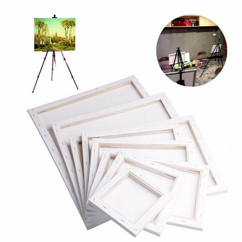 1pc Canvas Art Board For Canvas Oil Painting Art Supplies For Artist Caballete De Pintura Wooden Board Frame For Primed Paint