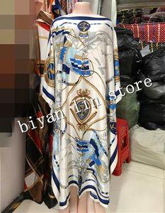 Image 5 - Длина платья: 130 см, обхват груди: 130 см, новинка 2018, модные платья, женская длинная блуза с принтом Дашики, цветной узор Yomadou, большие размеры