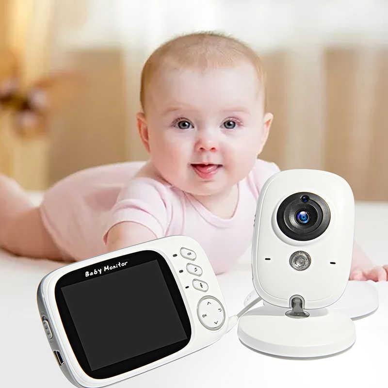 VB603 فيديو لاسلكية اللون مراقبة الطفل مع 3.2 بوصة LCD 2 طريقة الصوت نقاش للرؤية الليلية مراقبة الأمن كاميرا جليسة