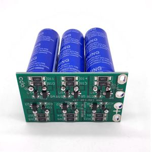 Image 2 - 16V 16.6F Super Farad Capacitor 6PCS/Set 2.7V 100F Super Capacitor with Protection Board Double Row for Car Automotive Rectifier