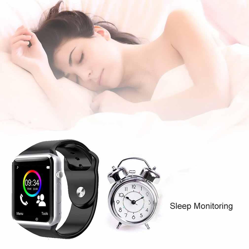 חדש A1 Bluetooth חכם שעון ספורט מד צעדים תמיכה 2G SIM TF מצלמה Smartwatch עבור אנדרואיד HUAWEI Apple Samsung
