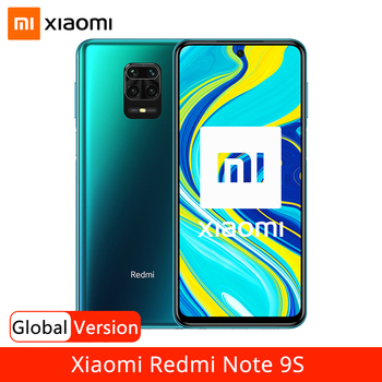 "Global Version Xiaomi Redmi Note 9S 9 S 6GB 128GB Smartphone Snapdragon 720G Octa Core 48MP AI Quad Camera 6.67"" Screen 5020mAh"