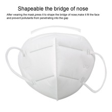 100pcs KN95 Dustproof Anti-fog And Breathable Face Masks 95% Filtration N95 Masks Features As KF94 FFP2
