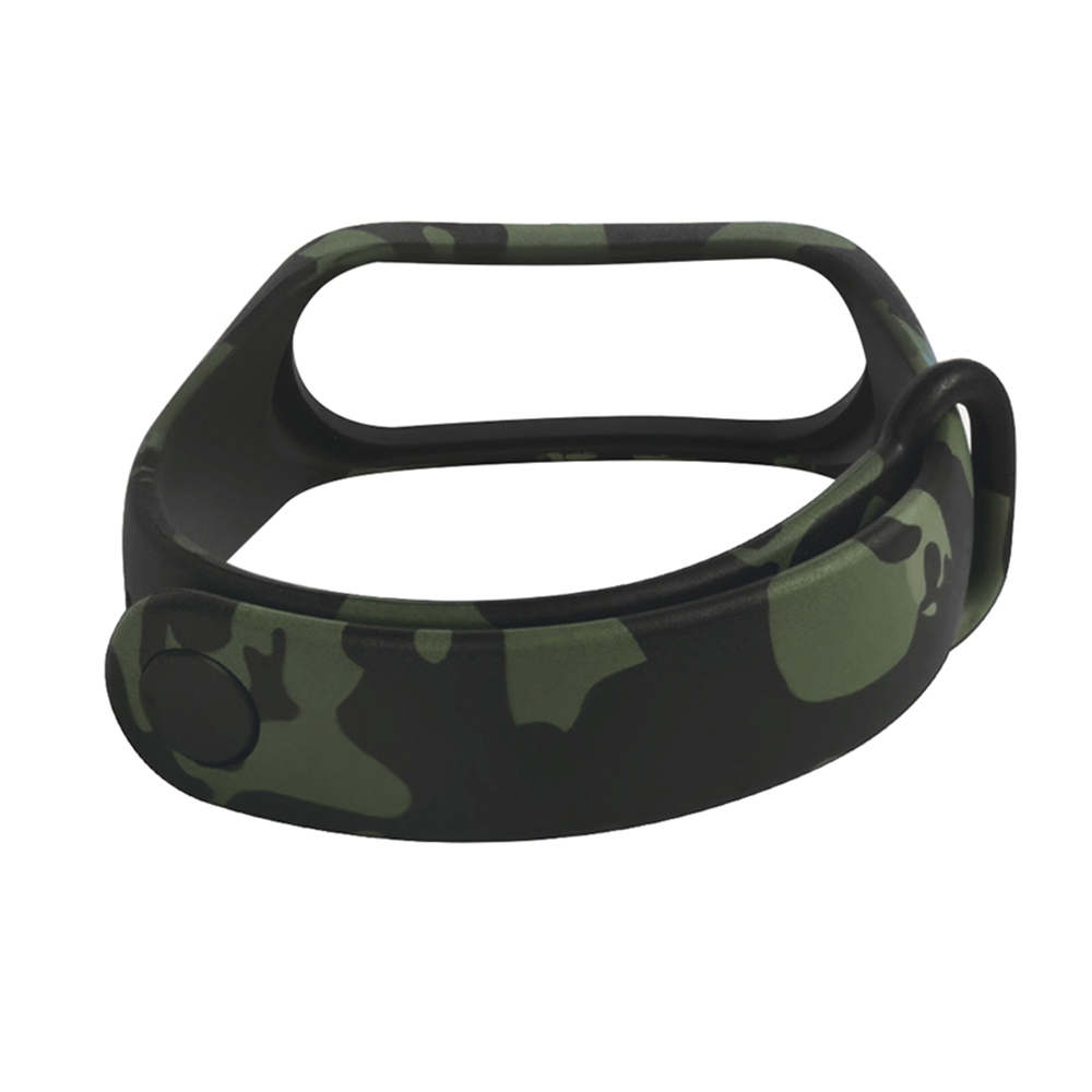Sport Wristband Suitable For Xiaomi Mi Band 3 4 Replacement Camouflage Pattern Wrist Band Bracelet Watchband Accessories