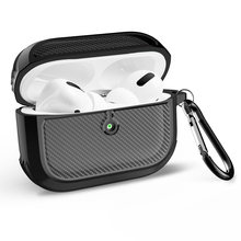 Carbon fiber Pattern for AirPods Pro Charging Case,Waterproof Protective Shock Resistant