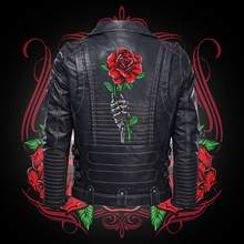 Зимняя новая стильная популярная мужская мотоциклетная куртка на молнии для автомобиля Уолтер Бейкер розовая кожаная куртка