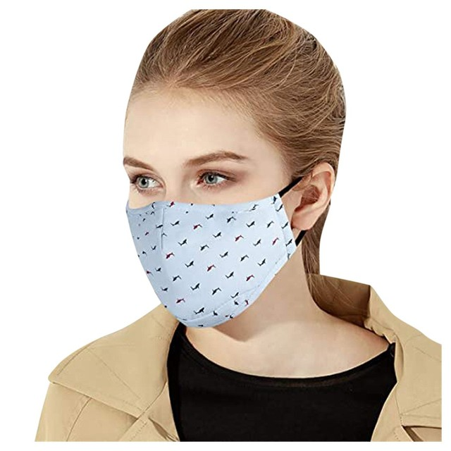 Reusable Protection Personal Care Mask 1pc + 7pcs