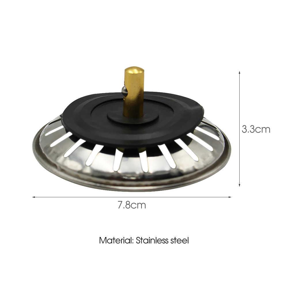 1 pcs/Cucina Accessori Per Lavello lavello In Acciaio Inox Filtro Rotondo Per La Cucina di Scarico Pavimento del Bagno Lavello Della Cucina Fermacorda e ganci