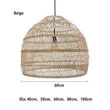 Nuevo estilo chino lámpara de Rota lámpara colgante Vintage lámpara colgante E27 sala de estar comedor decoración del hogar Cafetería Restaurante lámpara colgante