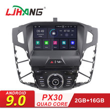 LJHANG 1 Din Android 9,0 автомобильный dvd-плеер для Ford Focus 2012- gps Navi wifi мультимедийный автомобильный Радио стерео аудио автомобильный RDS
