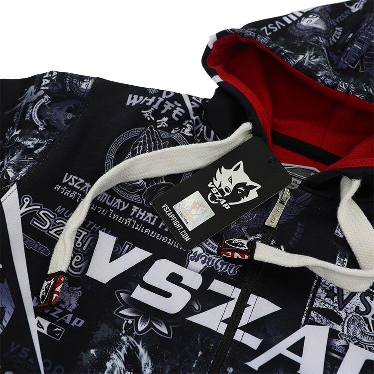 Clothing - VSZAP Muay sweater met kap