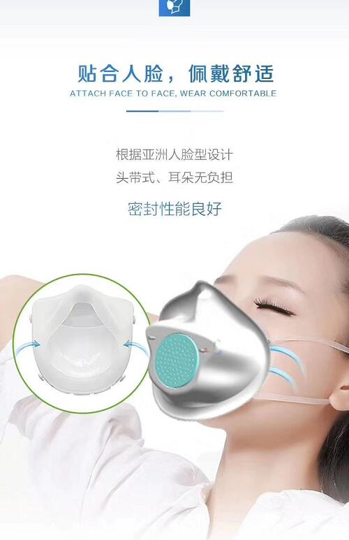 Replaceable Mask With 14pcs Filler One Month Use Masks Protective Mask  Anti-virus Masks