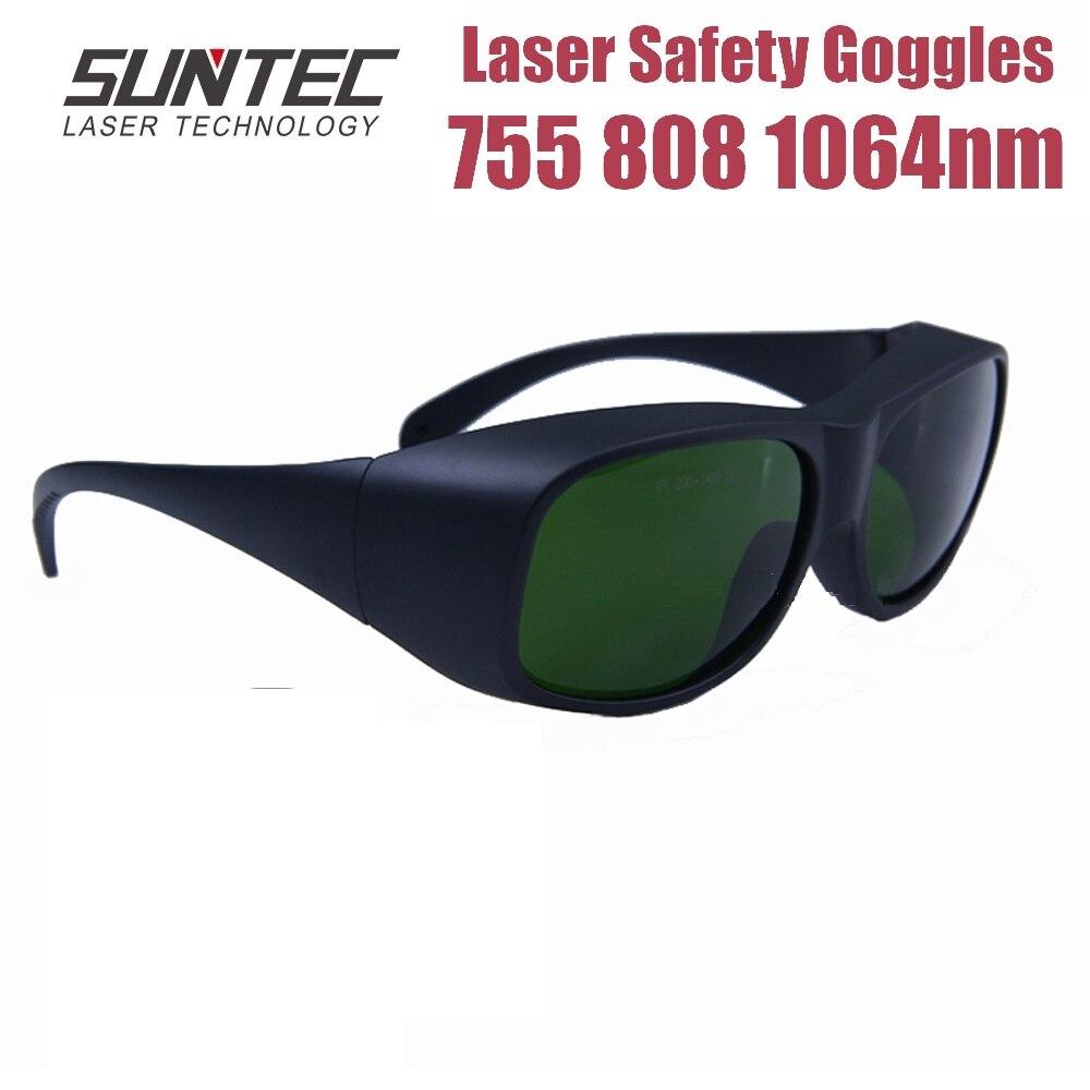 Suntec Laser Safety Goggles 755 808 1064nm Multi Wavelength Eye Laser Protective Goggles Glasses ND:YAG Laser Protection Glasses