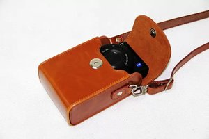 Image 4 - Vintage PU Leather Camera Case For Canon G9X G7X G7X Mark II G7XII G7X III SX730 SX700 SX720 S90 SX260 SX240 SX275 S90 S120 S110