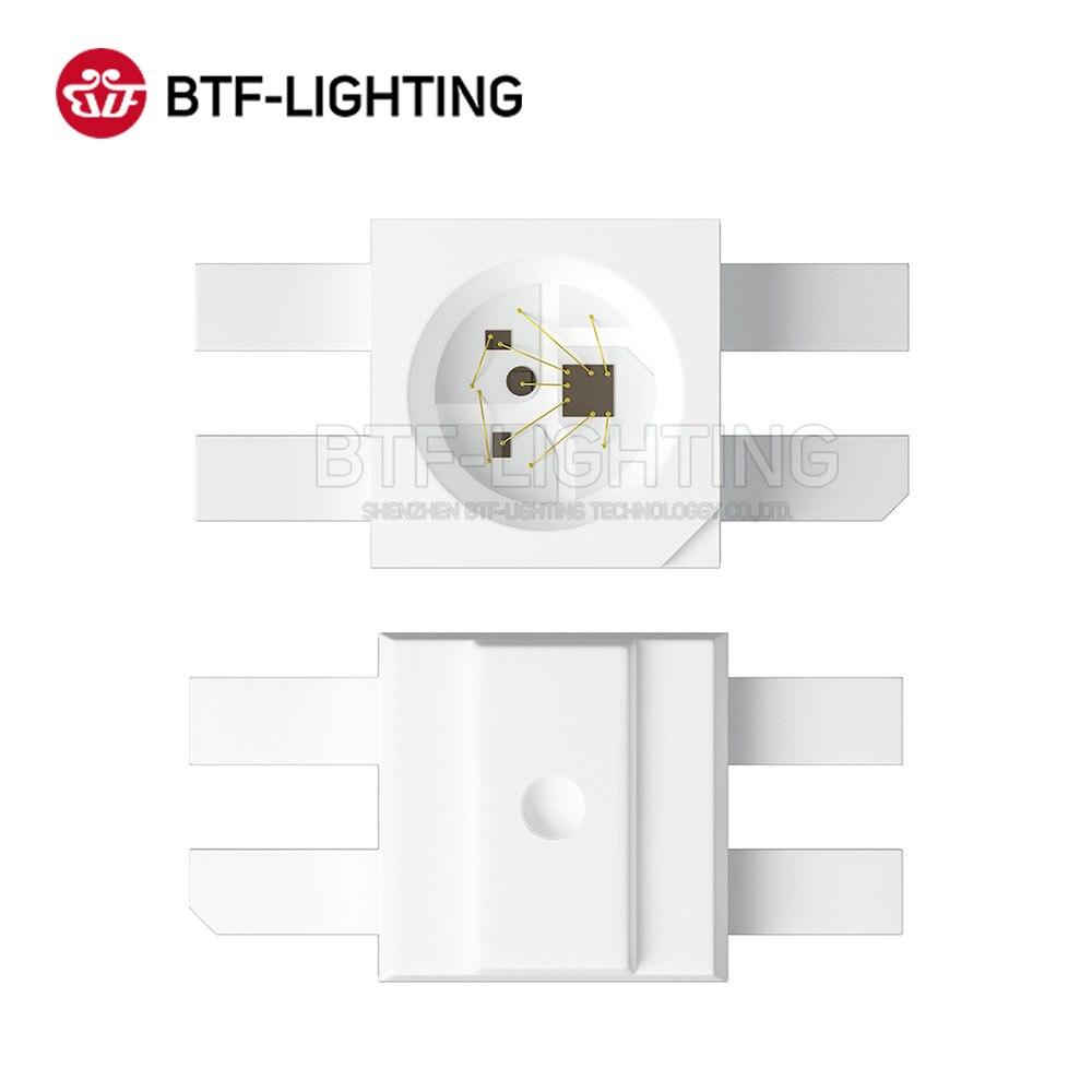 BTF6812RGB MINI-E (ähnliche mit WS2812B) 2000 stücke 3228 SMD Pixel LED Chip 0,2 W/STÜCKE Einzeln Adressierbaren Full Farbe DC 5V