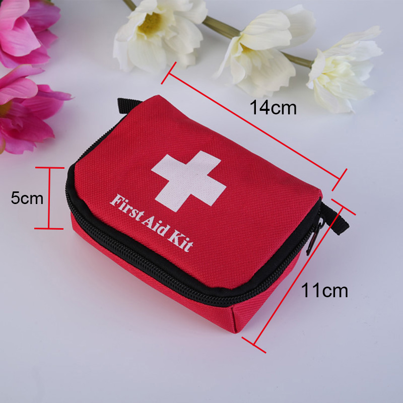 First Aid Kit Rescue Bag Survival Emergency Treatment Mini For Outdoor Hiking Camping QJY99