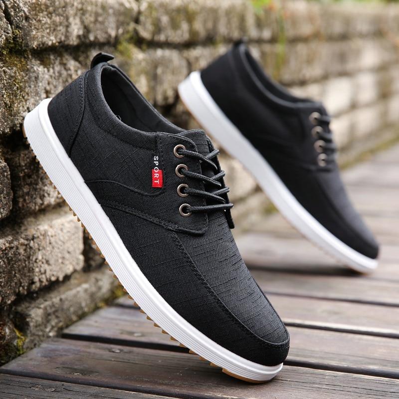 LettBAO แฟชั่นรองเท้าผู้ชายรองเท้าผู้ชายรองเท้าสบายๆ 2019 ฤดูใบไม้ผลิขายร้อนเหงื่อดูดซับ Breathable Casual ...