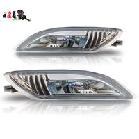 Case for Toyota Sienna fog light fit for 2006 2010 LED fog lamp car light assembly 2*5W with wiring kit and switch 405