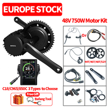 Motor-Kit Ebike BBS02 Mid-Drive Central Conversion Electric-Bicycle 48v 750w 8fun Bafang
