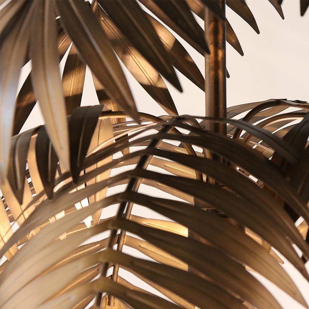 Coconut plant fake hanging light