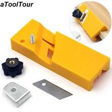 Placa de yeso de carpintería cepilladora herramienta cuadrados y planos avión yeso borde chaflán mano caja de mano de yeso herramientas de Carpenter