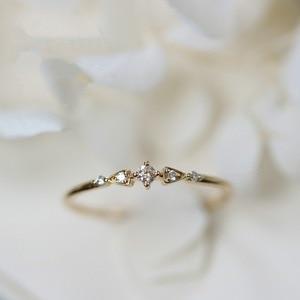 Retro 14k Gold Diamond Ring for Women Bizuteria Tail Engagement Banquet Anillos Rings Woman 14K gold Bizuterias Gemstone rings