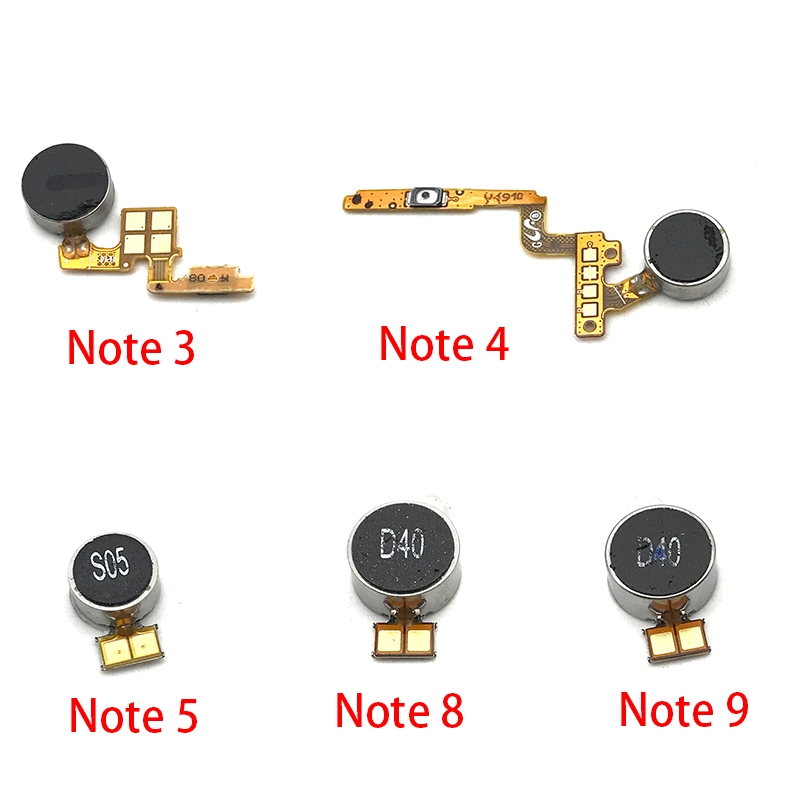 New Vibrator Module Ribbon Flex Cable Motor Vibration For Samsung Galaxy Note 3 4 5 8 9 Replacement Parts