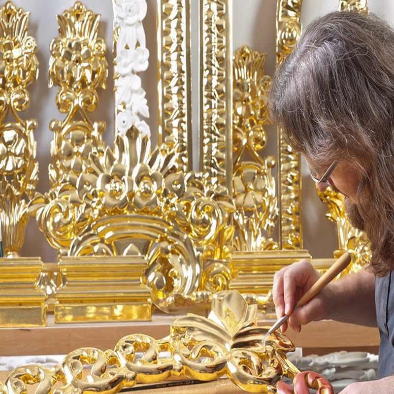 10 Buah Dimakan 24K Emas Daun Lembar 8X8 Cm Murni Asli Wajah Dimakan Daun Emas untuk Memasak kue Cokelat Dekorasi