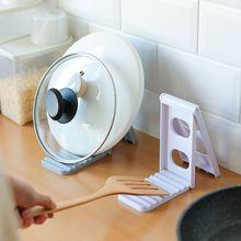 Shelf Storage-Organizer Lid-Rack Cutting-Board Multifunctional Kitchen Drainer Pot Tableware
