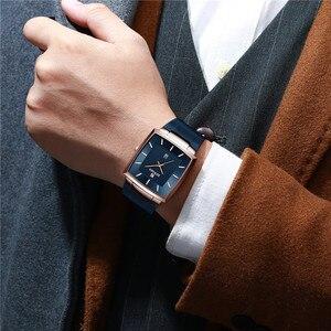 Image 5 - REWARD Top Brand Mens Watch Business Relogio Masculino Square Quartz Man Watch Men Wristwatch Full Steel Waterproof Male Watch