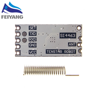 Image 5 - 10pcs HC 12 SI4463 wireless microcontroller serial, 433 long range, 1000M with antenna for Bluetooth