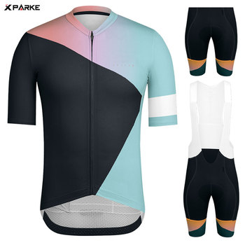 Raphaing Cycling Clothing Cycling Jersey Men #8217 s Set ciclismo Mountain Bike Outfit Bicycle Clothes Triathlon Suit mtb Clothing tanie i dobre opinie Anti-riding 100 poliester Lycra polyester Krótki rękaw Factory direct sales 80 poliester i 20 lycra ropa ciclismo hombre