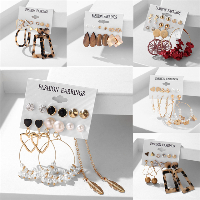 various earring bunches 2