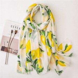 2020 роскошный брендовый Новый стильный модный шарф-платок из хлопка и льна зимний шарф женский Универсальный шелковый шарф одеяло с принтом