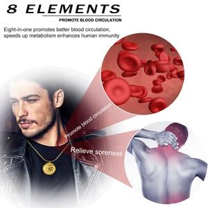 2020 Мужская подвеска, ожерелье, повышающее иммунитет, стимулирует метаболизм крови, энергетические ювелирные изделия, подвеска для здоровья...