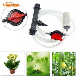 VOGVIGO przyssawka do nawadniania kropelkowego z filtrem węża System nawożenia venturiego nawadnianie ogrodu spryskiwacz