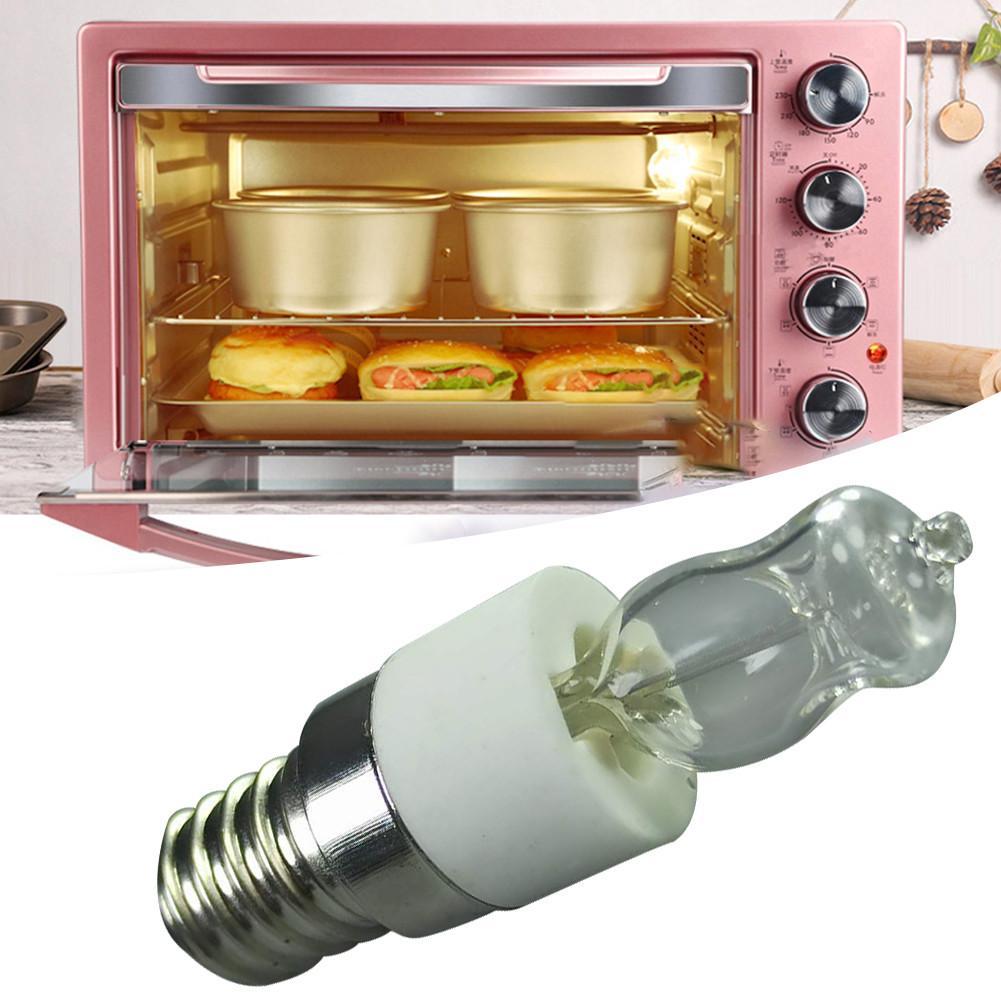 E14 220V-240V 50W Высокое Температура 500 градусов Цельсия тостер/Паровой Светильник лампы Плита капюшон лампы микроволновой печи лампы