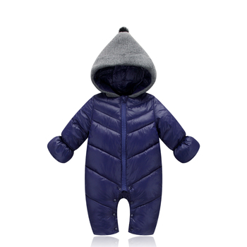 Baby Infant Cotton newborn Clothes Winter Thicken Outwear Jacket Jumpsuits Toddler Pajamas Boys Girls Kids Clothing Suits Romper 2018 new style toddler baby girls winter down coat infants kids cotton jacket outwear kids clothes children clothing 10 12 years