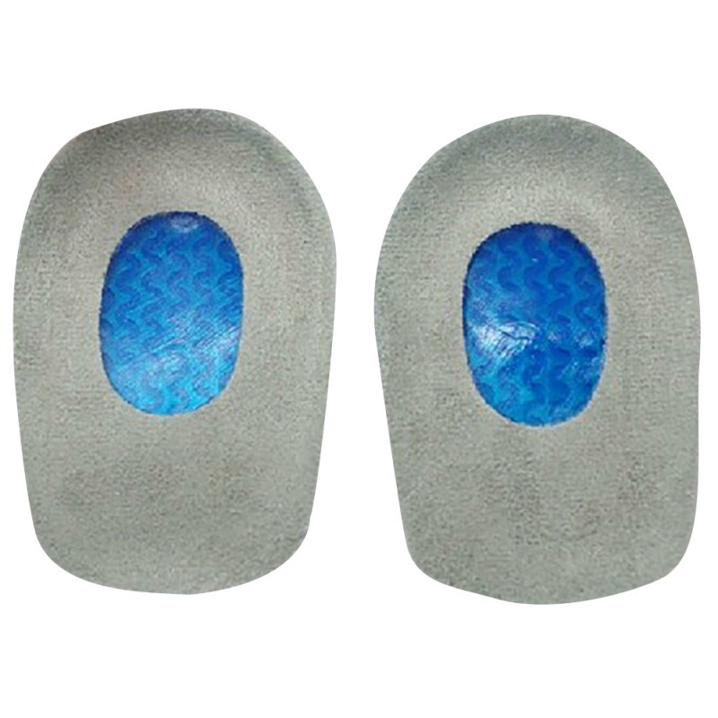 Free Post New Silicone Gel Insoles Heel Cushion Soles Relieve Foot Pain Protectors Spur Support Shoe Pad Feet Care Inserts