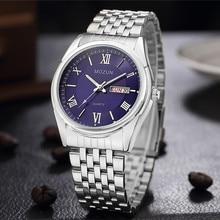 Часы OUBAOER мужские модные спортивные кварцевые часы мужские часы лучший бренд Роскошные деловые часы женские часы мужские часы