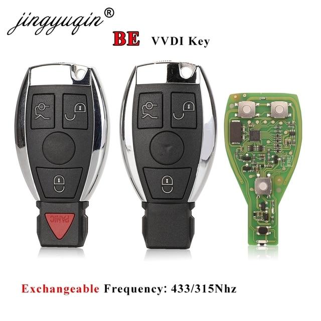 Jingyuqin VVDI להיות מפתח פרו לנץ V1.5 PCB מרחוק מפתח שבב גרסה משופרת חכם מפתח יכול להחליף 315/433Mhz MB BGA