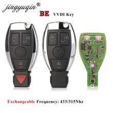 Jingyuqin VVDI SEIN Schlüssel Pro Für Benz V 1,5 PCB Remote Key Chip Verbesserte Version Smart Schlüssel Können Austausch 315/433Mhz MB BGA