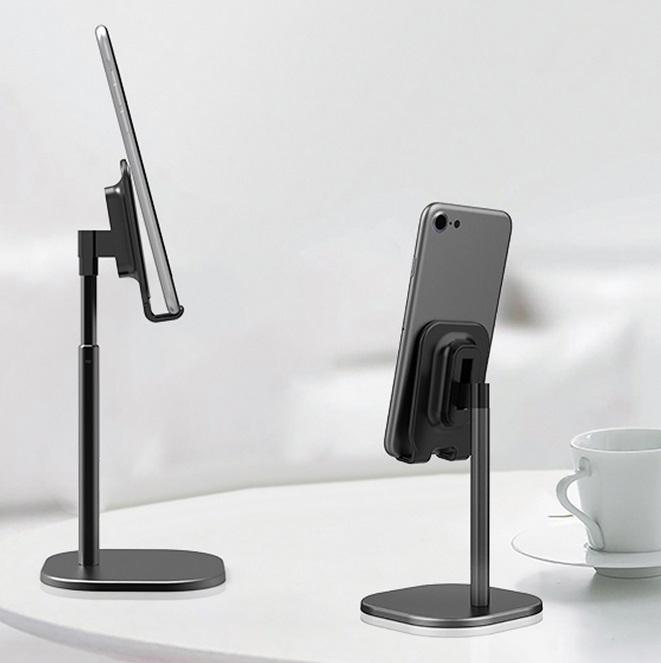 HobbyLane Universal Desk Telescopic Cell Phone Holder Stand For Mobile Phone/Tablet Desktop Holder Stand For Mobile Phone D25