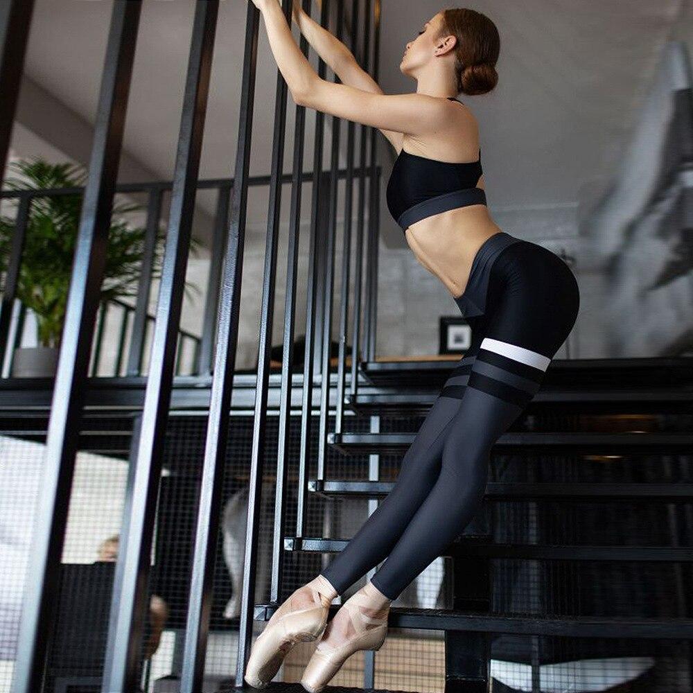 Mulheres yoga macacão roupas de treino conjuntos
