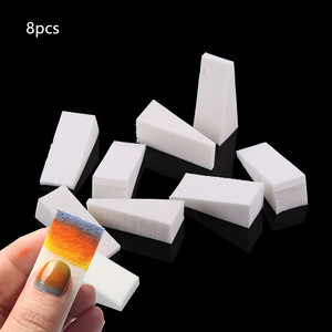 48/24/16/8pcs Soft Sponges Gradient Nail Art Stamper Tools Color Fade Manicure DIY Creative Nail Accessories Supply Tool