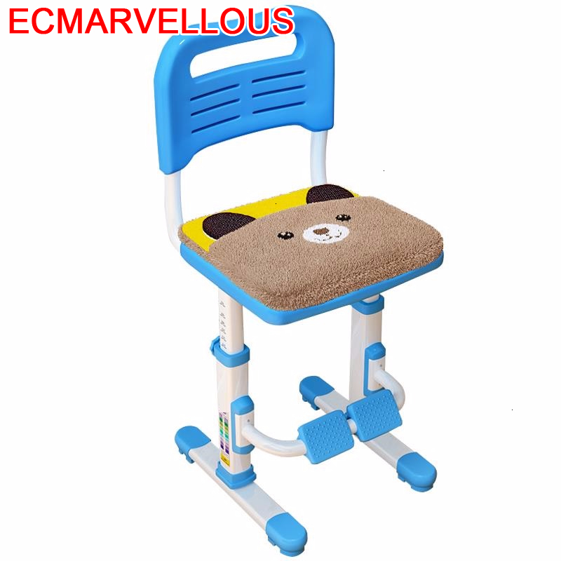 For Silla Dinette Table Kids Meble Dzieciece Tabouret Baby Furniture Cadeira Infantil Chaise Enfant Adjustable Children Chair