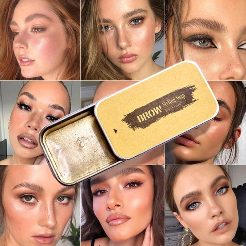 1PC Wild Eyebrow Shaping Soap 3D Feathery Brows Makeup Gel Brows Kit Long Lasting Eyebrow Setting Gel Eyebrow