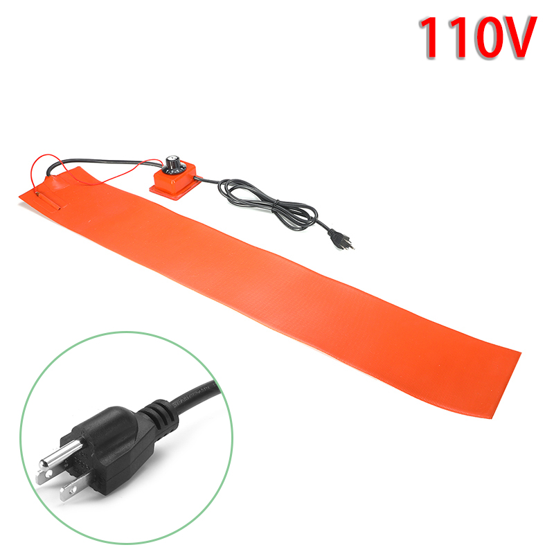 Device Heating Pad Tool 200cm Cable 1200W 110V/220V Silicone Orange Heater