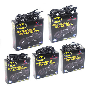 TOMICA Metal Car Limited Collection the Batmobile Car Model Batman Chariot Full Set Home Play Collectible Gift Toys for Children