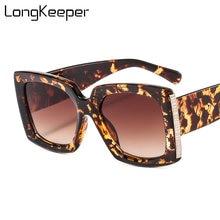 Модные квадратные солнцезащитные очки для женщин и мужчин 2020